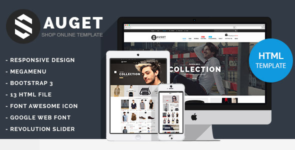 Sauget - eCommerce HTML Template - Shopping Retail