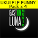 Funny and Happy Ukulele Pack 1