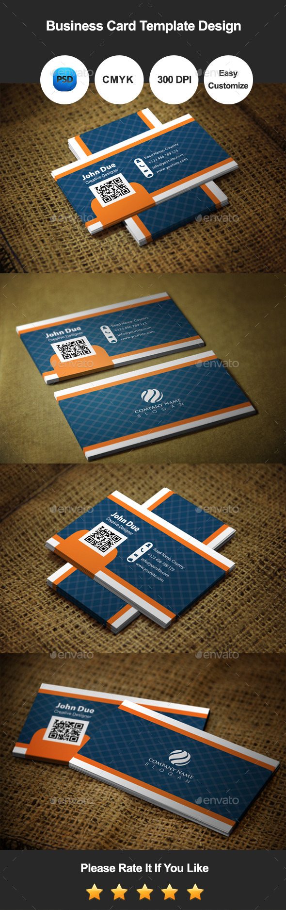 Crossoly Creative Business Card Template Design - Industry Specific Business Cards