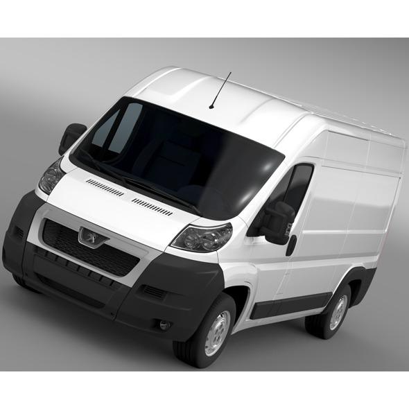 Peugeot Boxer Van L2H2 2006-2014 - 3DOcean Item for Sale