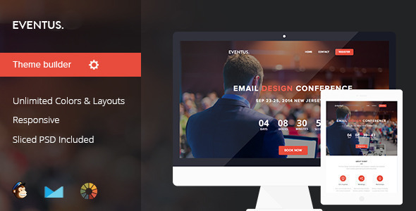 Eventus – Event/Conference Email Template
