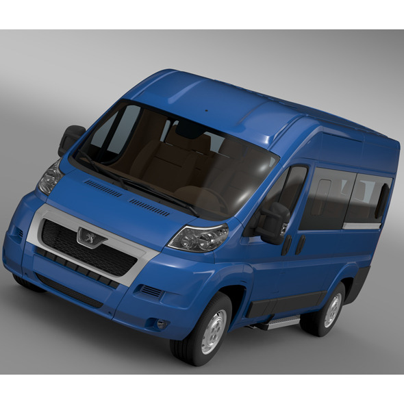 Peugeot Boxer Window Van L2H2 2006-2014 - 3DOcean Item for Sale