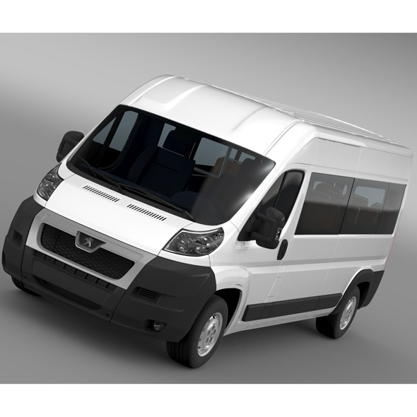 Peugeot Boxer Window Van L3H2 2006-2014 - 3DOcean Item for Sale