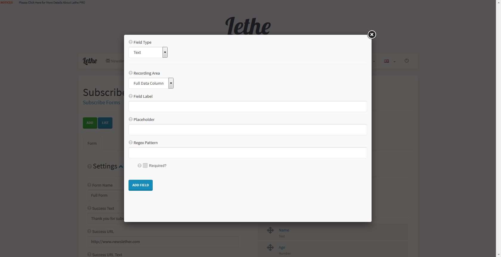 lethe php newsletter mailing system by thunderfury codecanyon