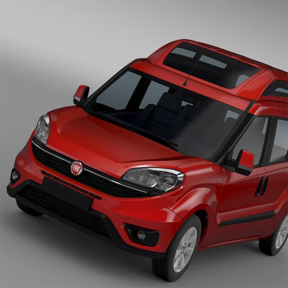 Fiat Doblo HighRoof Maxi (263) 2015 - 3DOcean Item for Sale