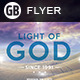 Light of God | Flyer - GraphicRiver Item for Sale