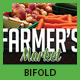 Farmer's Market Commerce Bifold - GraphicRiver Item for Sale