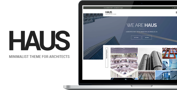 Haus – Architecture Template for Architects