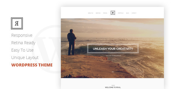 Rival – A One Page Multi-Purpose WordPress Theme