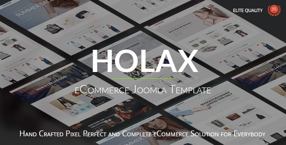 Holax - Multipurpose Hikashop eCommerce Template - Shopping Retail