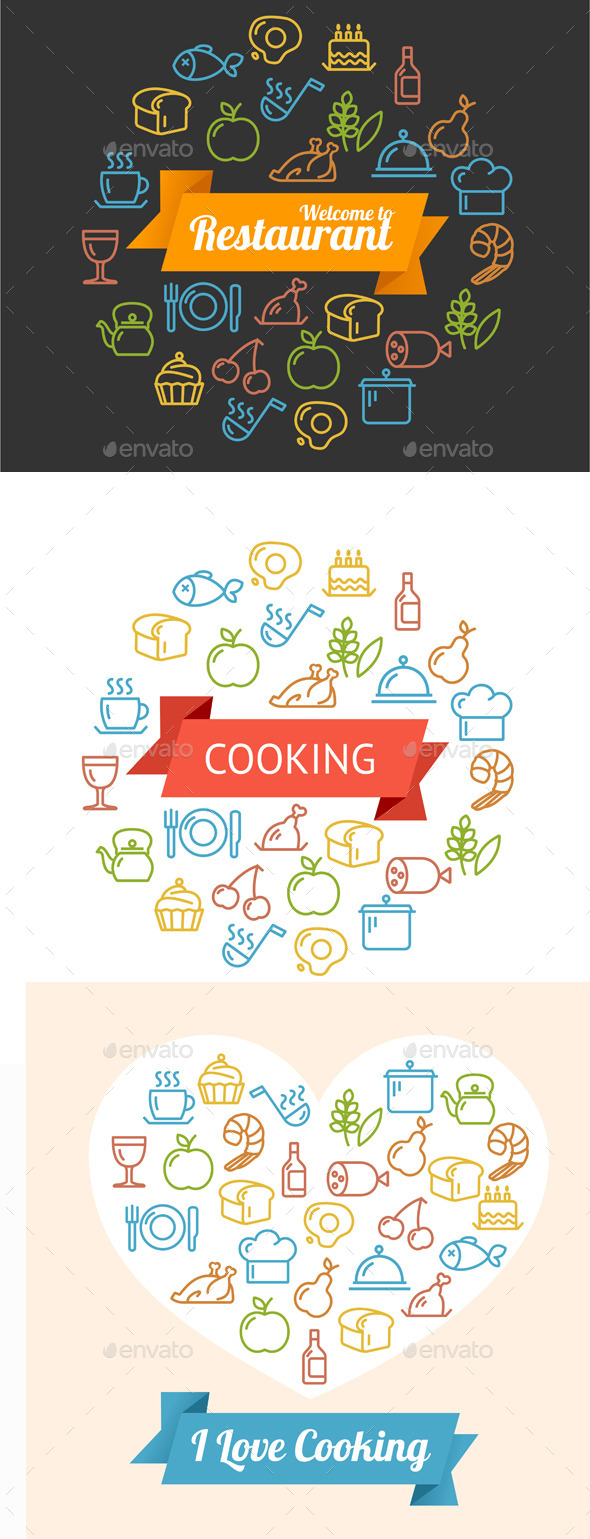 Cooking Concept Outline - Food Objects