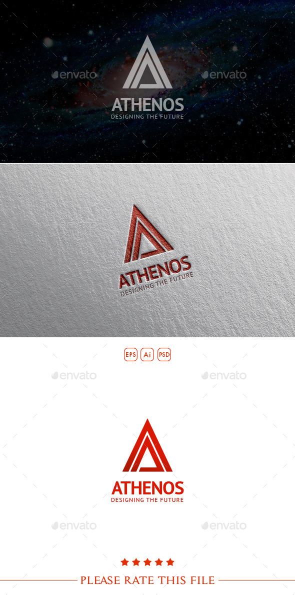 A Logo - Letters Logo Templates