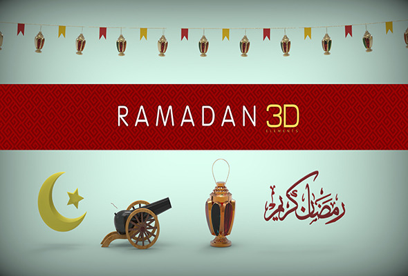 Ramadan 3D models Package  - 3DOcean Item for Sale