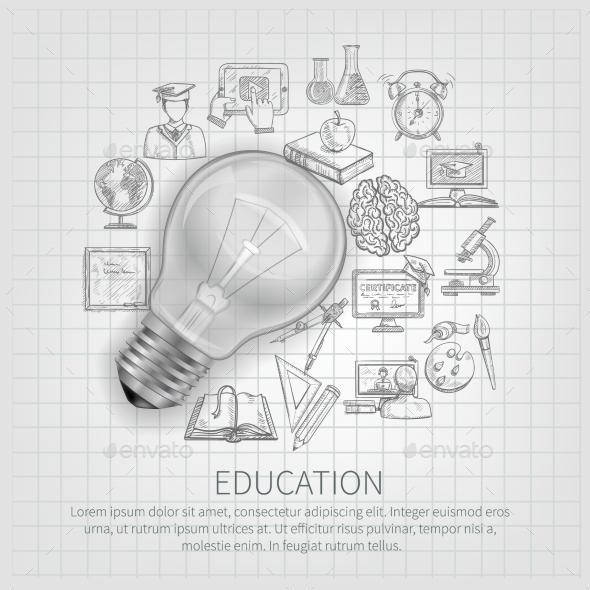Education Concept - Backgrounds Decorative