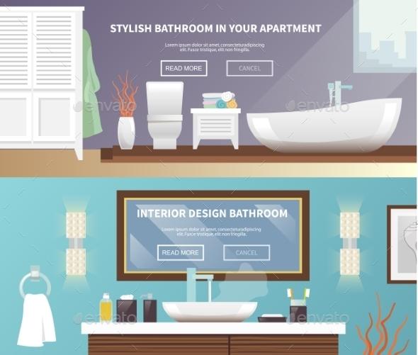 Bathroom Furniture Banner - Miscellaneous Vectors