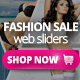 Fashion Sale Web Sliders 5 PSD - GraphicRiver Item for Sale