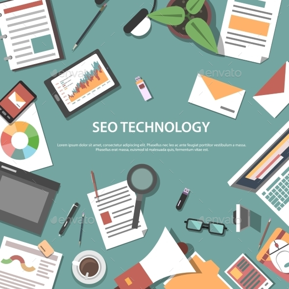 Search Engine Optimization Web Concept - Web Technology
