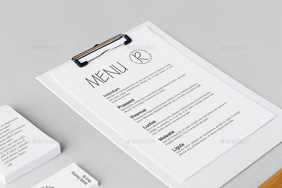 Restaurant Identity Branding Mock-up II by 8pmDesign | GraphicRiver