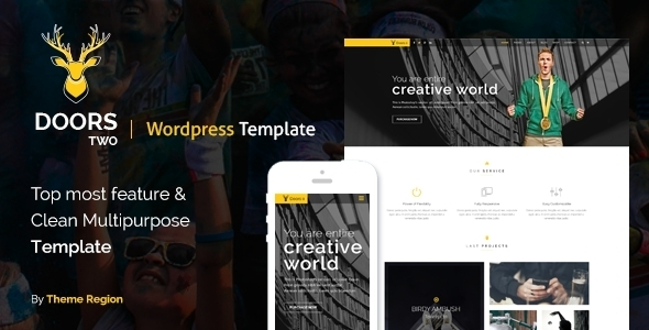 Doors Two - Multipurpose WordPress Theme - Corporate WordPress