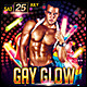 Gay Glow Poster/Flyer - GraphicRiver Item for Sale