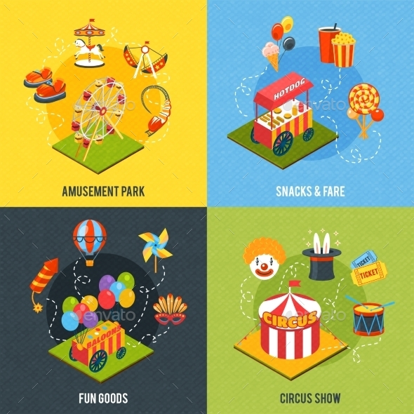 Carnival Design Concept - Miscellaneous Vectors