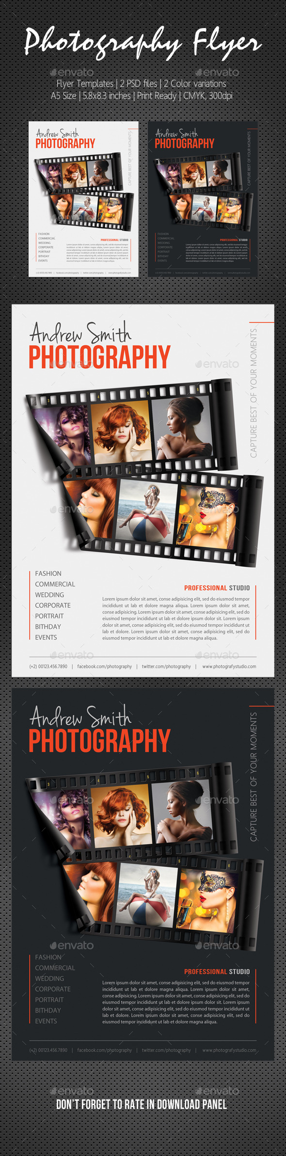 Photography Studio Flyer 16 - Corporate Flyers