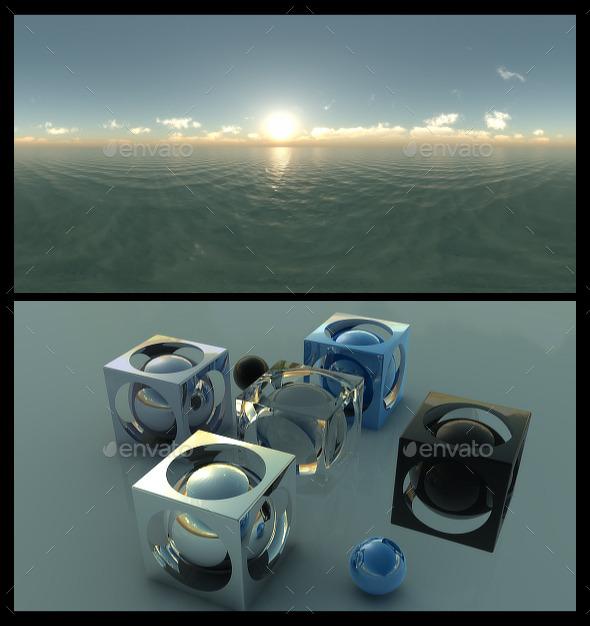 Ocean Dawn 3 - HDRI - 3DOcean Item for Sale