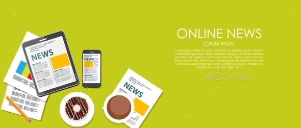 Online News  - Web Technology