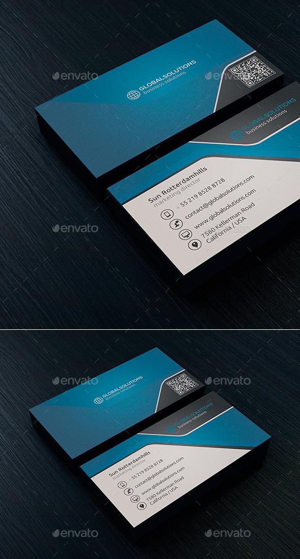 Corporate Business Card 1 - Corporate Business Cards