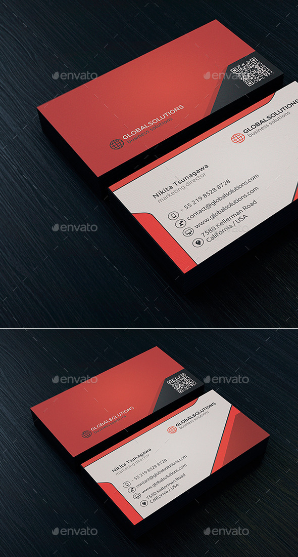 Corporate Business Card 2 - Corporate Business Cards