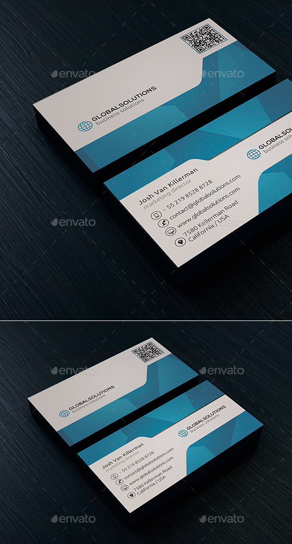 Corporate Business Card 3 - Creative Business Cards