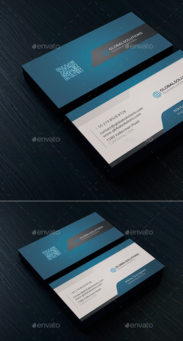 Corporate Business Card 4 - Corporate Business Cards