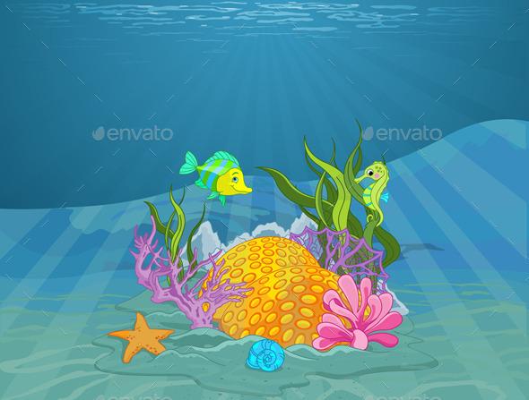 Seabed - Landscapes Nature