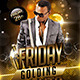 Friday Golding Nights   (Flyer Template 4x6)  - GraphicRiver Item for Sale