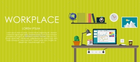 Workplace - Backgrounds Business
