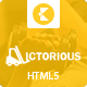 Victorious multi-purpose HTML5 template - ThemeForest Item for Sale