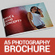 A5 Photography Brochure - GraphicRiver Item for Sale