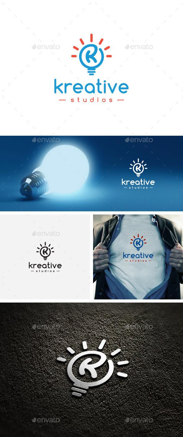 Kreative Studios Logo Template - Logo Templates