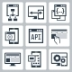 Application Programming Interface Icon Set - GraphicRiver Item for Sale