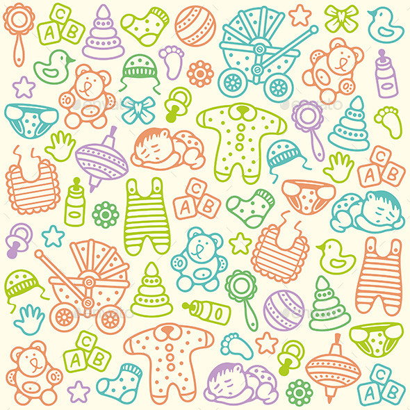 Baby Pattern - Patterns Decorative