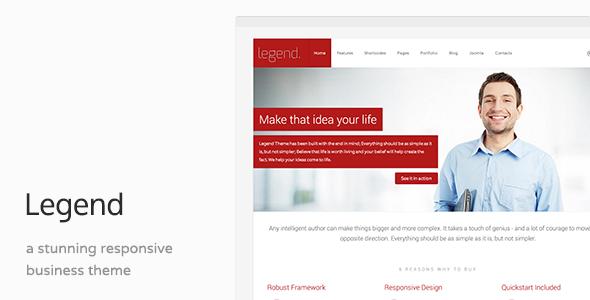 Legend - Clean Business Joomla Template