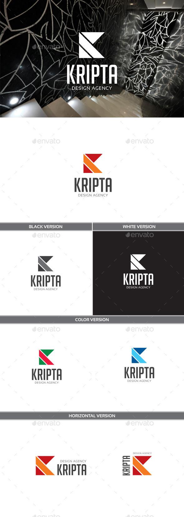 Kripta - Letters Logo Templates