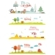 Seasons Banners - GraphicRiver Item for Sale