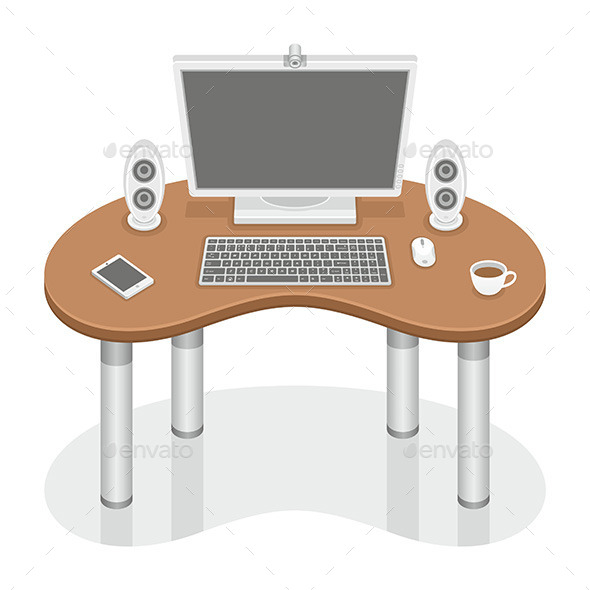 Computer Desk - Computers Technology