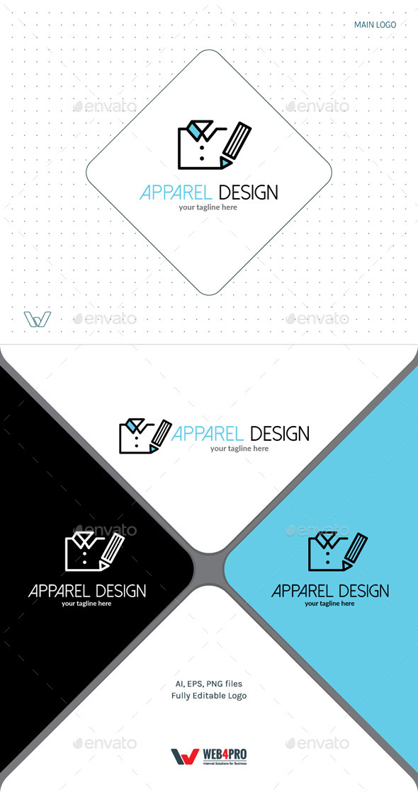 ApparelDesign Logo - Objects Logo Templates