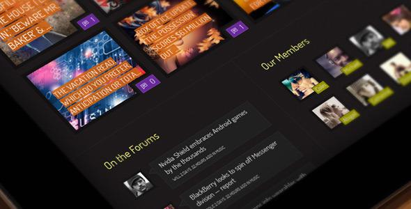 Xphoria – BuddyPress Theme