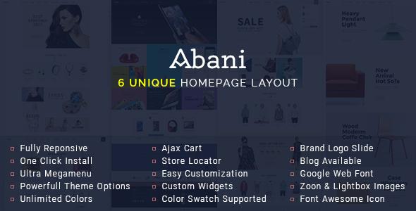 Abani – Premium Responsive Magento Theme