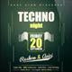 Techno - Flyer [Vol.6]