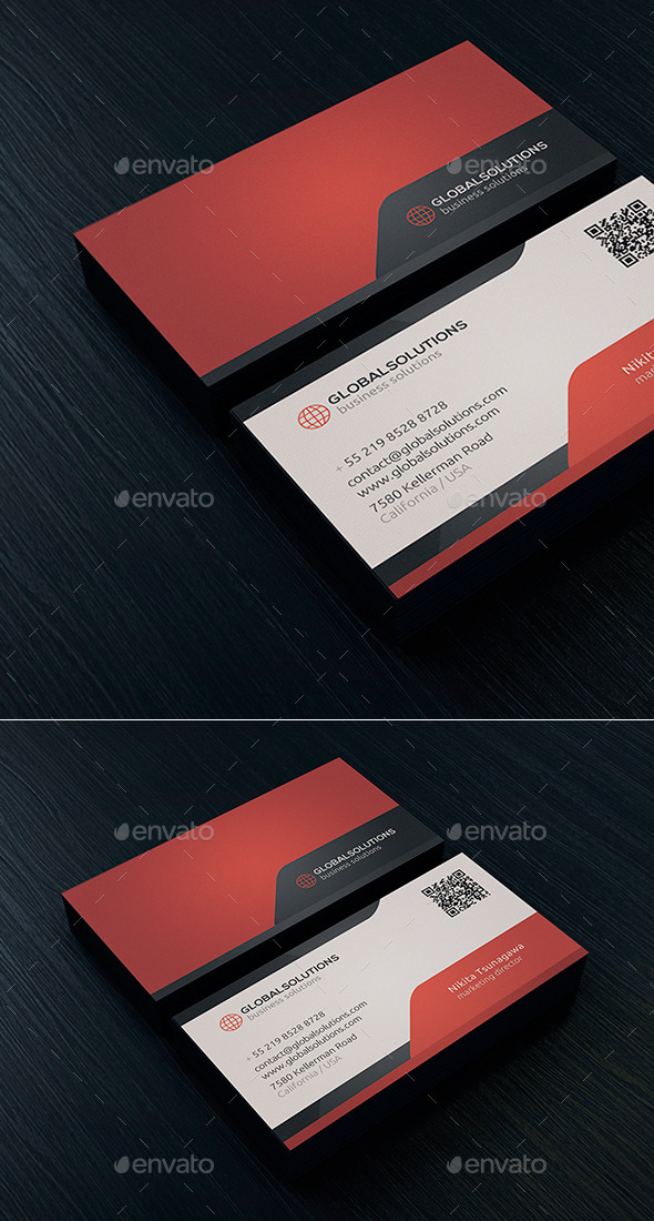 Corporate Business Card 8 - Corporate Business Cards