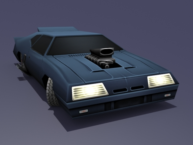 Mad Max Interceptor - 3DOcean Item for Sale